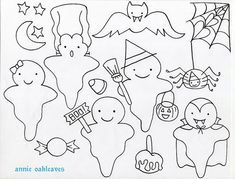Halloween Hand Embroidery Patterns How To Transfer Embroideries 5 Steps With Pictures. Halloween Hand Embroidery Patterns Welcome Spring Free Hand Emb. Paper Embroidery, Hand Embroidery Patterns, Applique Patterns, Cross Stitch Embroidery, Embroidery Designs, Knitting Patterns, Moldes Halloween, Halloween Templates, Manualidades Halloween