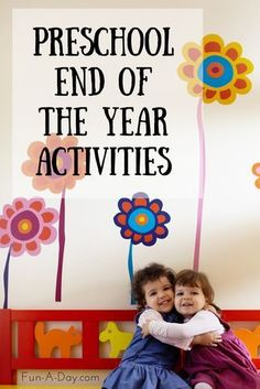 10+ end of the school year activities for preschool and kindergarten kiddos. The ideas could easily be tweaked for older children and homeschool families!