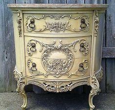Painted Antique Dresser-Stunning