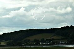 Chief UFO photographer 'flabbergasted' after spotting UFO flying across the sky over Dawlish | Torquay Herald Express