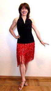 #latin dancewear