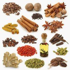6 SÚPER hierbas y especias que debes tener a mano http://www.mbfestudio.com/2014/06/6-super-hierbas-y-especias.html #especias #superalimentos #healthy