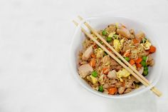 Chicken Fried Rice Easy Indian Recipes, Ethnic Recipes, Indian Cookbook, Butter Chicken, Weeknight Meals, Fried Rice, Chicken Recipes, Dishes, Ground Chicken Recipes