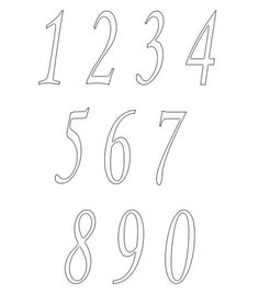 Numbers Clipart Image         Clipart