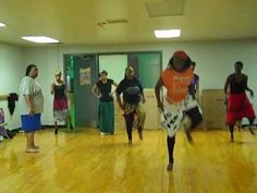 Manga African Dance class 53 min
