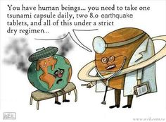 Funny pictures about Sick Earth. Oh, and cool pics about Sick Earth. Also, Sick Earth. Tsunami, Funny Images, Best Funny Pictures, Amazing Pictures, Doctor Humor, Earth And Space Science, Humor Grafico, Awkward Moments, Really Funny
