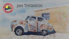 This week Jan Thomson treats Colour In Your Life to another vibrant and passionate art show episode. Her landscapes are stunning to look at and wonderful to . Watercolor Painting Techniques, Watercolour Tutorials, Painting Lessons, Watercolor Landscape, Watercolor Paintings, Watercolours, Different Art Styles, Learn Art, Art Tutorials