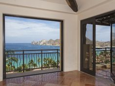 This corner great room opens up to a secluded seaview terrace that perfectly balances indoor/outdoor living. El Medano Ejidal #2-PH503 | Cabo San Lucas