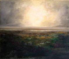 Wetlands after Rain Landscape Original Oil Painting 50cm x