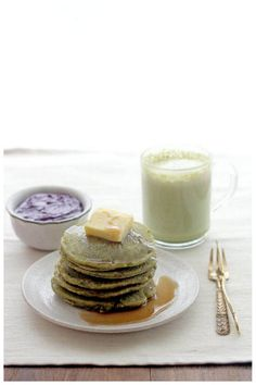 Foodagraphy. By Chelle.: Matcha Hotcakes