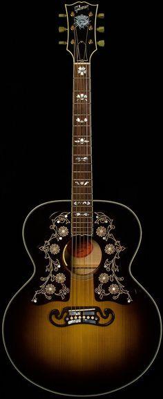 gibson - sj-200 bob dylan player's edition. Siga o nosso blog Mundo de Músicas em http://mundodemusicas.com/