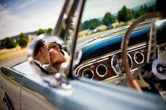 Wedding, Bride, Groom, Kissing, Jelani memory photography, Mustang