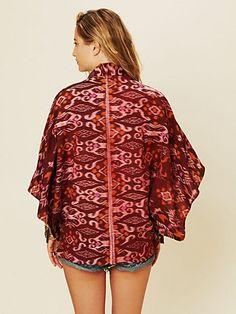 ikat kimono, kimonos