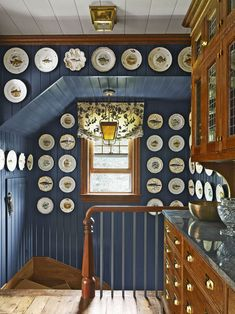 An Century Seaside Cottage Saved from the Wrecking Ball - The Glam Pad Weekend Cottages, Cozy Nook, Blue Rooms, Step Inside, Next At Home, Dining Room Design, Bars For Home, 18th Century, Seaside