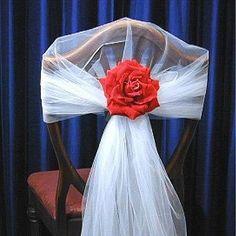 Como decorar sillas para la fiesta de casamiento