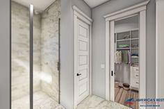 Modern Farmhouse Plan: 1,257 Square Feet, 2 Bedrooms, 2 Bathrooms - 041-00227 Guest House Plans, Small Cottage House Plans, Small Cottage Homes, Small House Floor Plans, Cottage Plan, New House Plans, Lake Cottage, Cottage Ideas, Small Farmhouse Plans