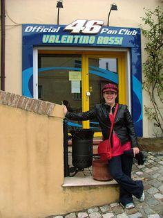 Visit Valentino Rossi's hometown in Tavullia, Italy... Italian inspiration
