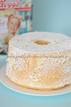 Pasqualina in cucina: La Chiffon cake