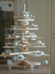 arbre de Noel en bois