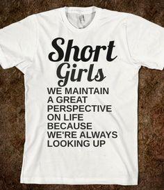 SHORT GIRLS PERSPECTIVE