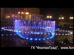 Russian musical fountain -- spectacular!