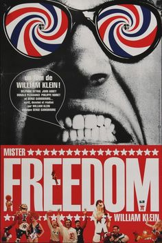 Mr. Freedom (1968) Serge Gainsbourg, Cinema Posters, Film Posters, Ww2 Propaganda Posters, William Klein, Cool Books, Movie Poster Art, Beautiful Posters, Vintage Posters