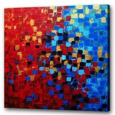 1/2. Op deze afbeelding zie je de strijd tegen blauw en rood oranje. Blauw en rood/oranje is complementair kleurcontrast. En geven bijde een bepaald gevoel. Rood: gevaar, warmte. Blauw: fris, koude. Vandaar dat de strijd zo hevig is.