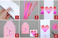 Cartões artesanais de dia dos namorados como fazer, dicas 2