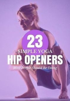 Health Motivation Yoga Hip Openers - 23 Simple Poses Most People Should Be Doing - If you ever feel stiff and sore, suffer from low back pain, or have poor posture, tight hips could be the culprit. These 23 yoga hip openers can help. Vinyasa Yoga, Sanftes Yoga, Sup Yoga, Ashtanga Yoga, Yoga Flow, Kundalini Yoga, Pilates Yoga, Iyengar Yoga, Pilates Reformer