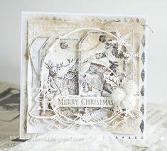 Dorota_mk (Dorota (Kopeć) Kotowicz Christmas Cards, Merry Christmas, Shabby Chic Christmas, Old Fashioned Christmas, Vintage Shabby Chic, Scrapbook Paper, Vintage World Maps, Frame, Collection