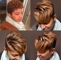 Cool and Stylish Pixie Haircut Ideas for a Bold Statement, Short Sassy Hair, Short Hair Cuts, Straight Hair, Pixie Cuts, Love Hair, Great Hair, Curly Hair Styles, Natural Hair Styles, Hair Affair