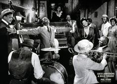 Louis Armstrong and Billie Holiday - 20x28 - photo poster - Phil Stern – It's A Black Thang.com