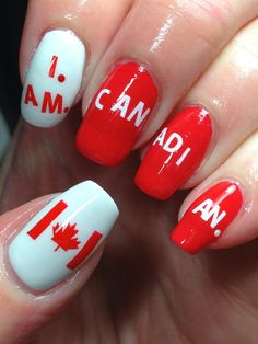 I had an epic post planned today to round out Digit-al Dozen Countries and Cultures week featuring Canada. I Am Canadian, Canada Day, Artwork Design, Red Nails, Beauty Hacks, Beauty Tips, Pretty Hairstyles, Health And Beauty, Nail Art Designs