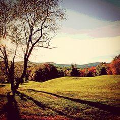 A lovely fall scene in Western, MA.