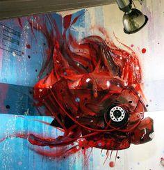 StreetArt recyclés de Artur Bordalo