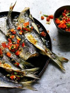 Split Herrings from BBC tv's Rick Stein: Fish & Shellfish, produced for BBC Books, and shot by James Murphy Photography