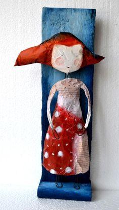 redheaded figure
