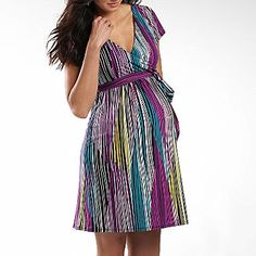 Pleated Front Maternity Dress - jcpenney | Ropa Maternidad ...