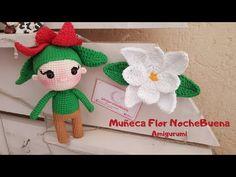 Como tejer una MUÑECA FLOR NOCHEBUENA AMIGURUMI a crochet paso a paso - YouTube #nochebuena #amigurumipattern #crochetpattern #muñecatejida #muñecaflor #muñeca #doll #knitdoll Flora, Crochet Hats, Doll, Youtube, Amigurumi Doll, Christmas Eve, Xmas, Key Fobs, Tejidos
