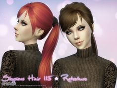 Skysims Hair 115 Retexture at Aveira Sims 4 via Sims 4 Updates