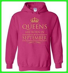Queens Are Born in September Gift For Birthday Hoodie - Birthday shirts (*Amazon Partner-Link)