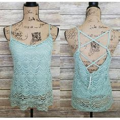 Lucy Lace Crochet Tank · Joonam Boutique · Online Store Powered by Storenvy