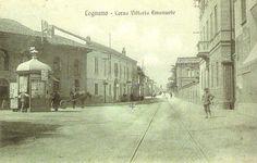 Legnano, Corso Vittorio Emanuele, oggi Corso Italia.