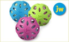 A twist on the classic rubber ball, Crackle Balls are the perfect toys for your curious pup.Only 12 with FREE SHIPPING from doggyloot!