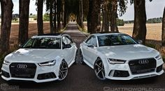 Audi RS6 Avant and RS5