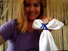 DIY Washcloth angels with Sandy and Dollar Tree Supplies - YouTube