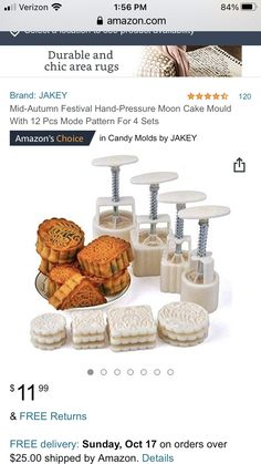 Moon Cake Mold, Ceramic Supplies, Mid Autumn Festival, Home Gifts, Gift Guide, Place Card Holders, Sweets, Ceramics, Ceramica