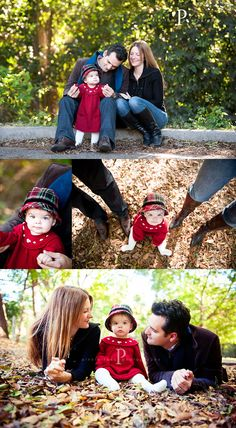 family of three -- need to go out and do this in our leaves before I can't lay on my stomach any longer!