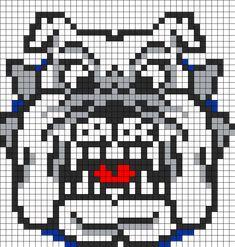 Fresno Bulldog Perler Perler Bead Pattern / Bead Sprite