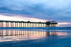 California Decor, California Beach, La Jolla, San Diego, Beach Office, Pastel Home Decor, Water Printing, Pastel House, Photo Print
